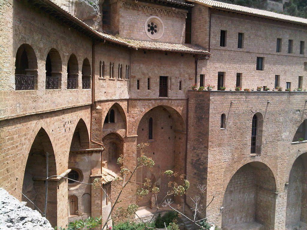 Matrimonio al Monastero di San Benedetto a Subiaco (RM)