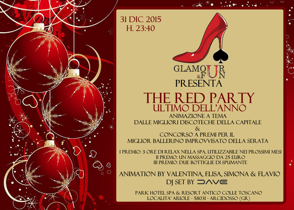 The Red Party - Ultimo dell'anno