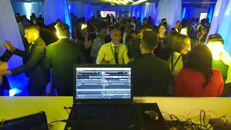 Dj Dave's mixing for you! Un evento aziendale con la musica di dj Dave