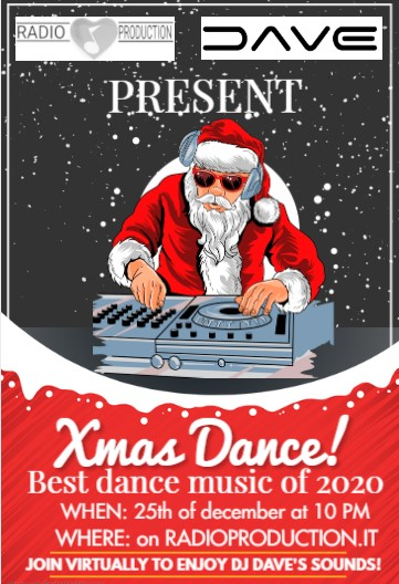 Xmas dance! – Best dance songs of 2020 by dj Dave
